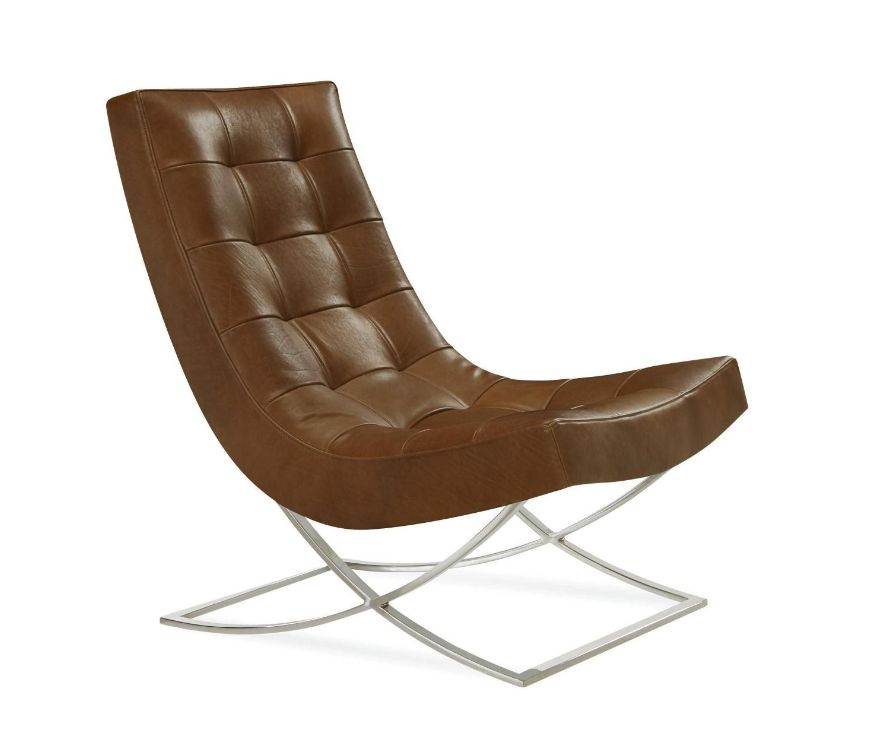 Sicily Camel Leather Chair