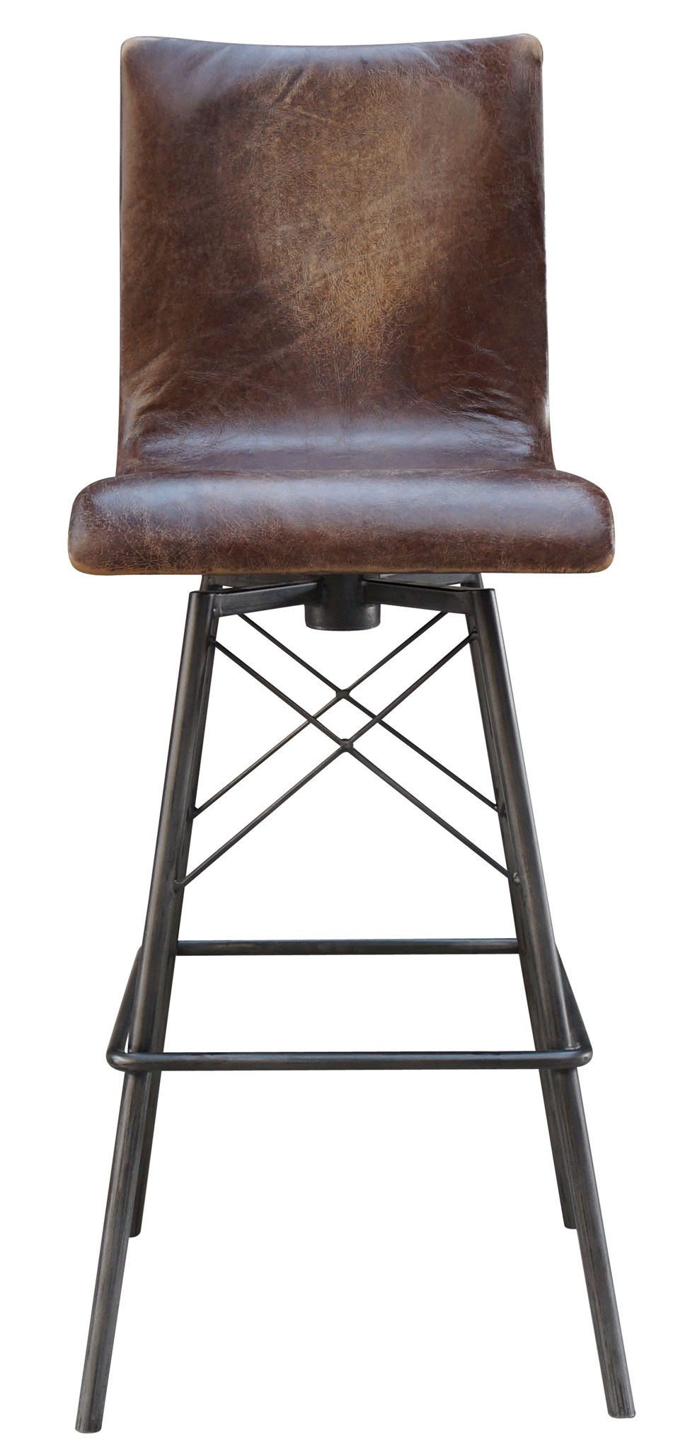 Super Jenna Swivel Leather Bar Stool Mecox Gardens Unemploymentrelief Wooden Chair Designs For Living Room Unemploymentrelieforg
