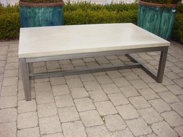 Concrete Coffee Table Mecox Gardens