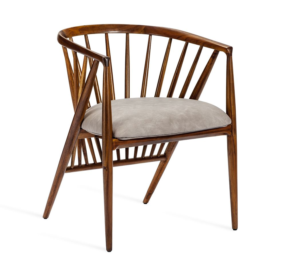 Magnificent Lila Mid Century Style Dining Chair Mecox Gardens Ibusinesslaw Wood Chair Design Ideas Ibusinesslaworg