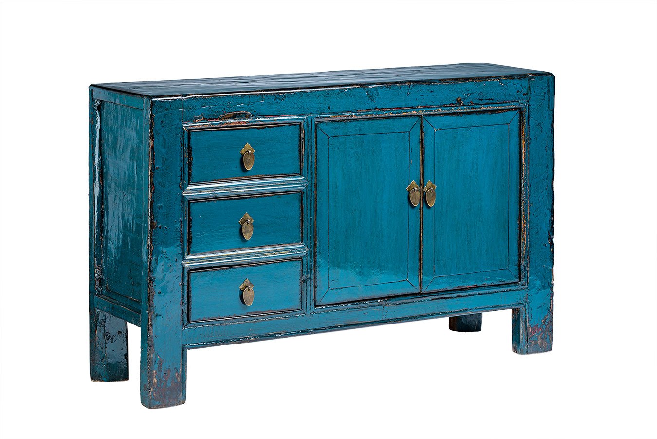 Merveilleux Antique Small Chinese Cabinet