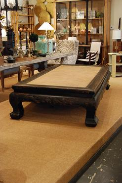 Antique Chinese Opium Coffee Table Mecox Gardens