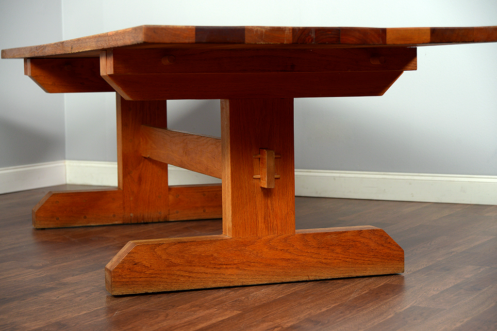 Antique Arts And Crafts Style Dining Table
