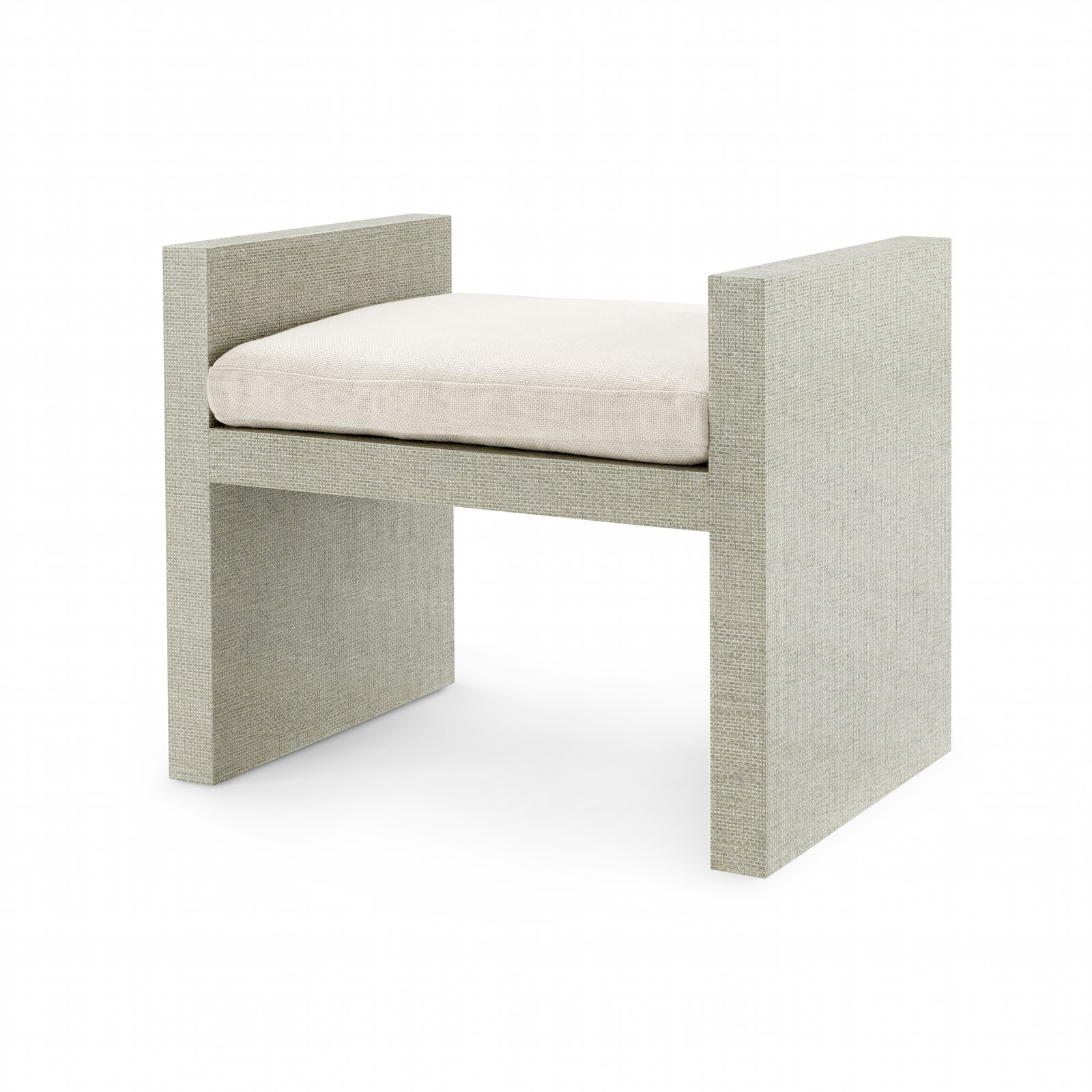 Superb Harlet Lacquered Linen Bench Mecox Gardens Gmtry Best Dining Table And Chair Ideas Images Gmtryco