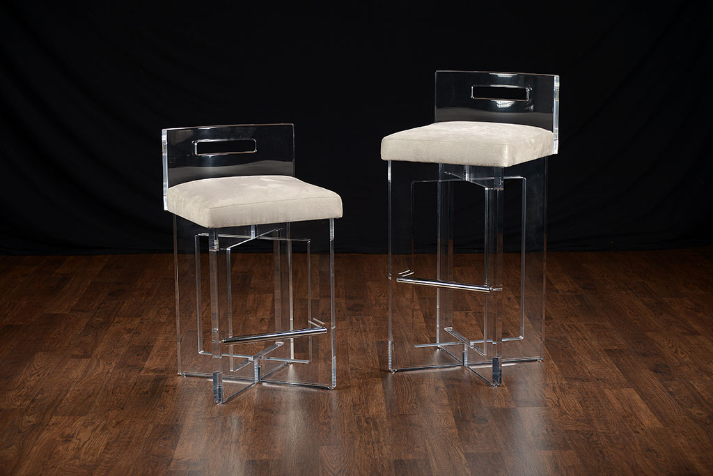 Lucite Counter Stool Mecox Gardens