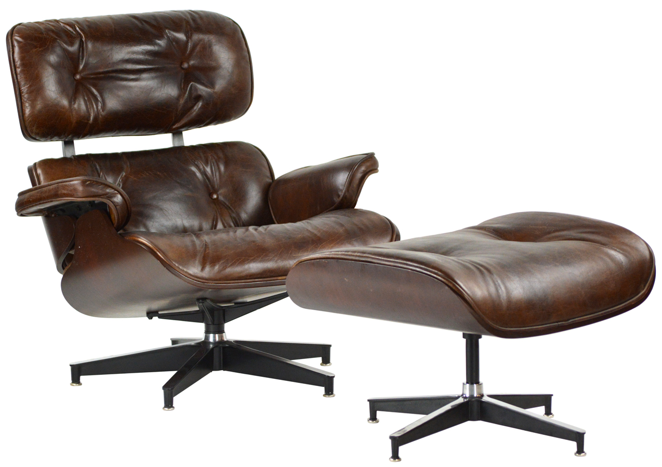 Stupendous Draper Leather Chair And Ottoman Set Mecox Gardens Gmtry Best Dining Table And Chair Ideas Images Gmtryco
