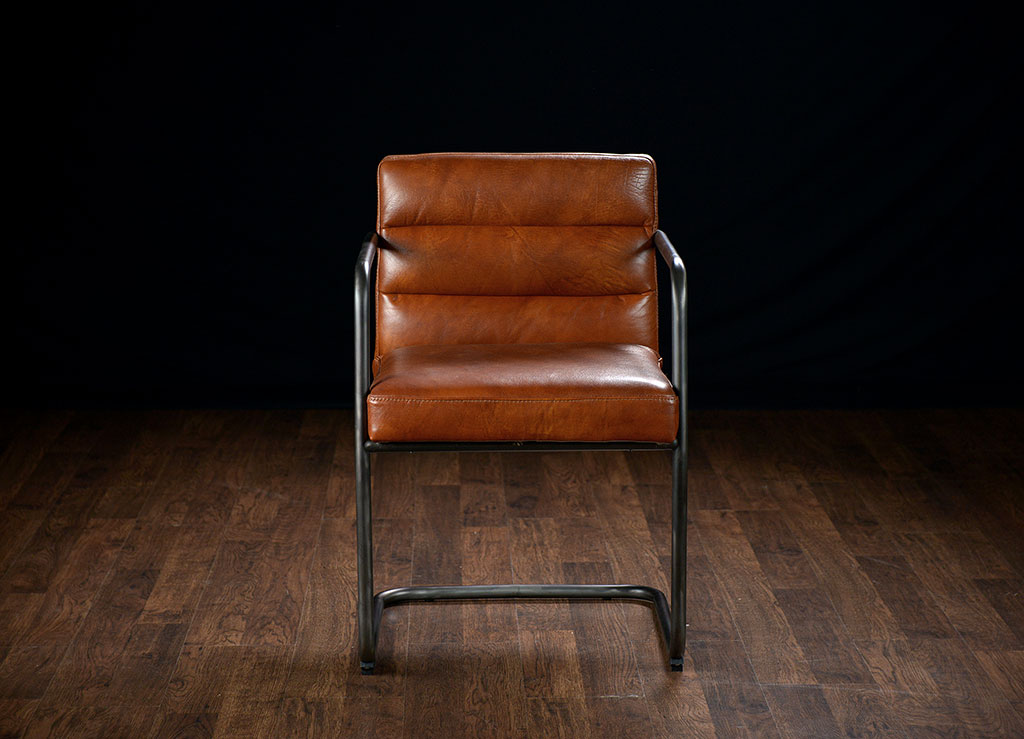 McLean Leather Arm Chair
