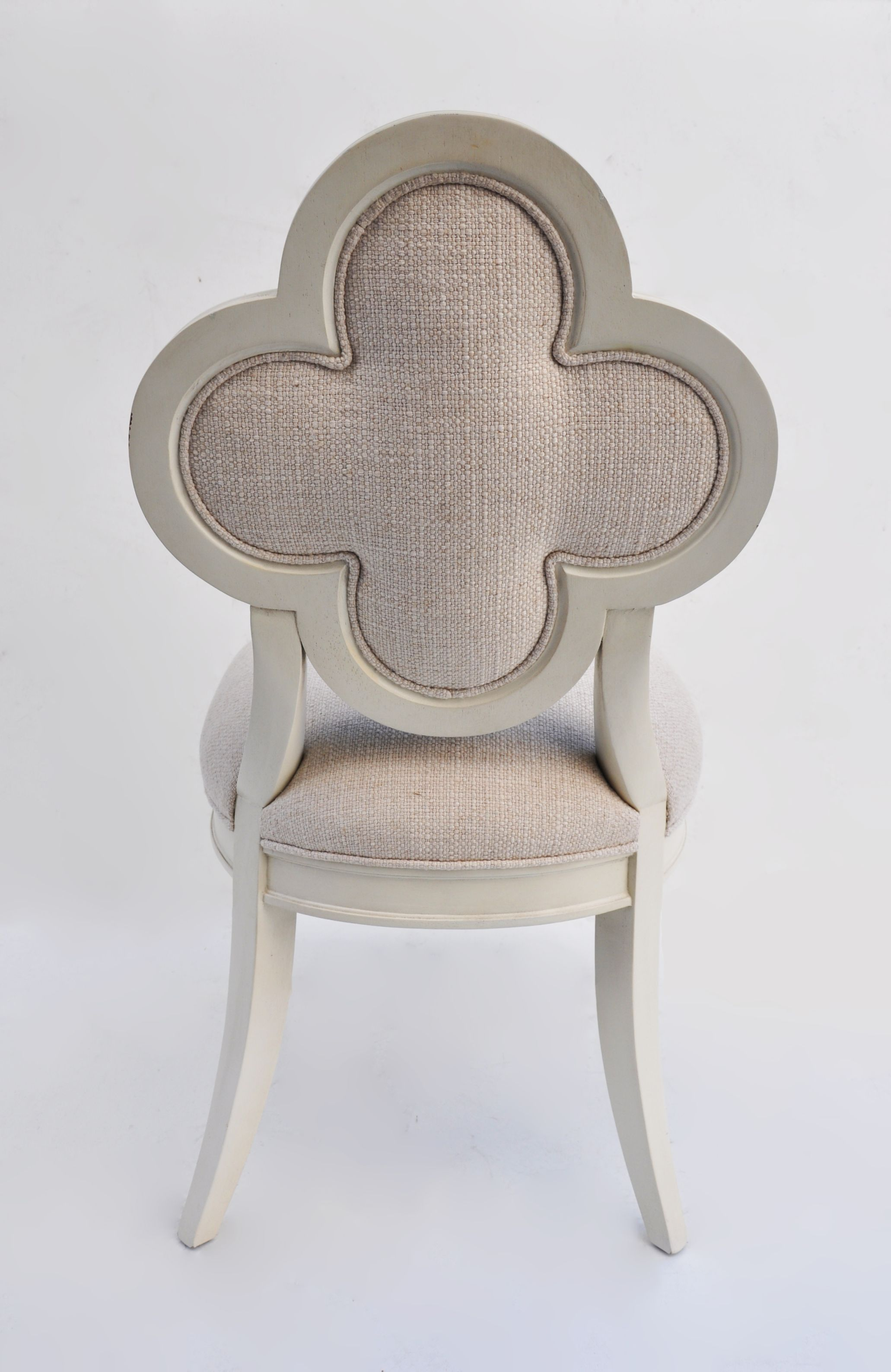 Unavailable   Clover Leaf Back Chair
