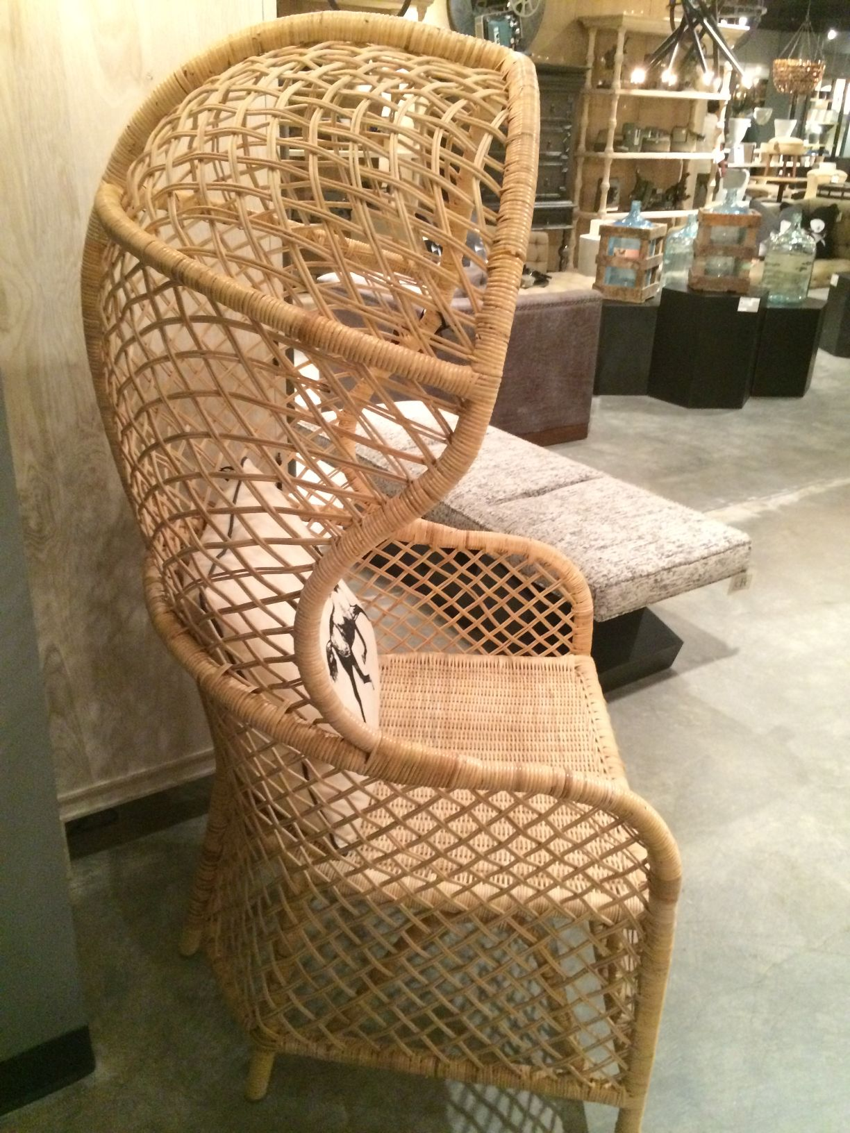 porter product chair width height rattan vintage bamboo dome of chairish rattanbamboo fit aspect image