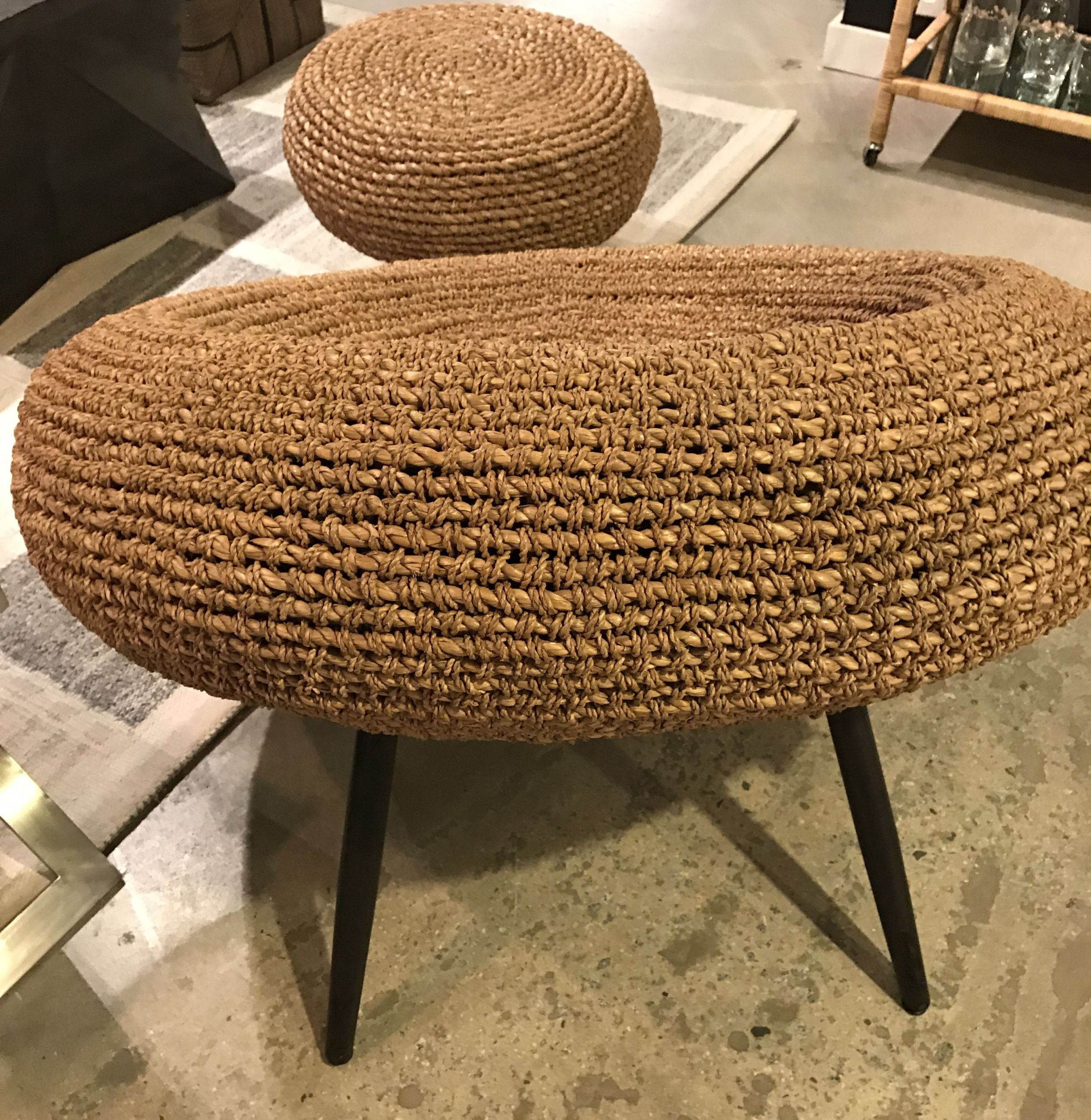 Seagrass Rope Bowl Chair Mecox Gardens