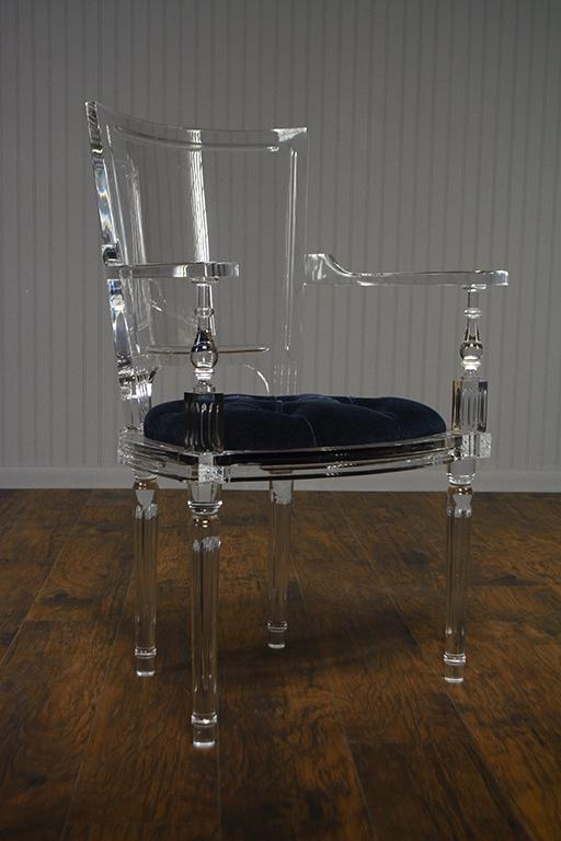 Marit Acrylic Arm Chair