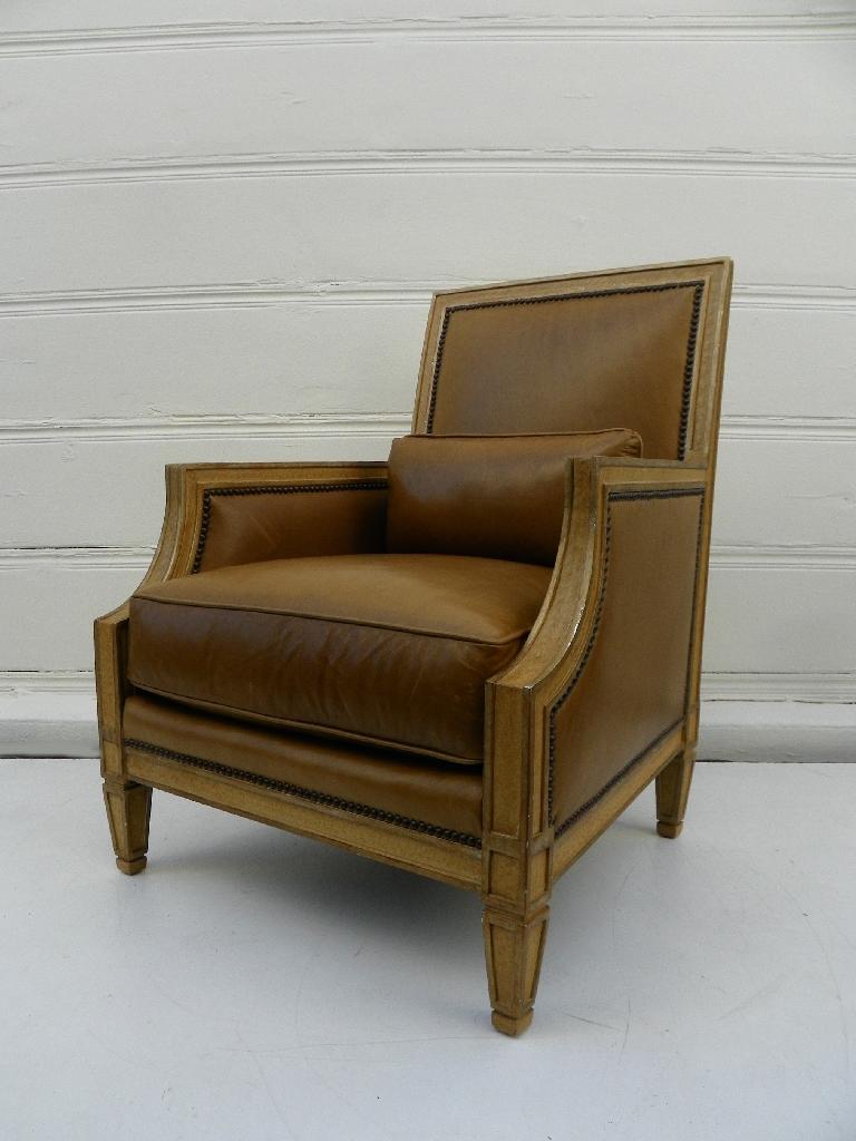 Groovy Odeon Hotel Dark Leather Library Chair Mecox Gardens Evergreenethics Interior Chair Design Evergreenethicsorg