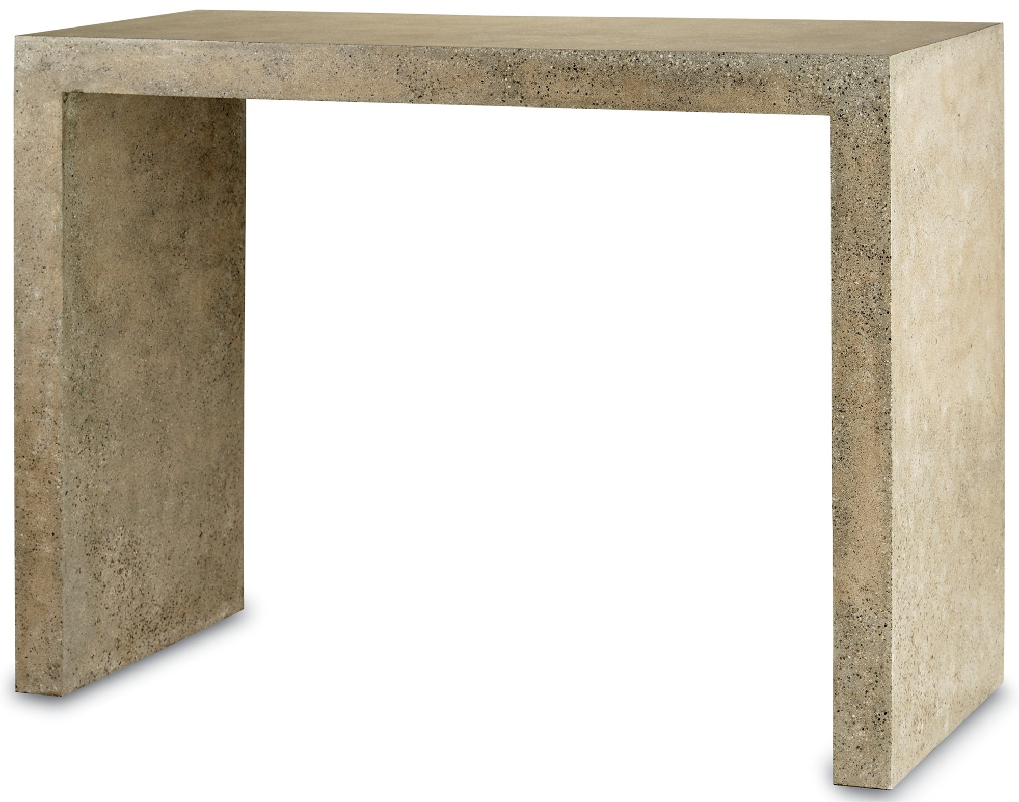 Polished Concrete Console Table