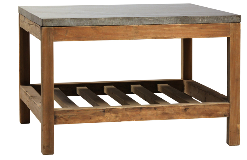 Darrin Bluestone Top Coffee Table