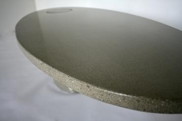 Oval Concrete Coffee Table Mecox Gardens - Oval concrete coffee table