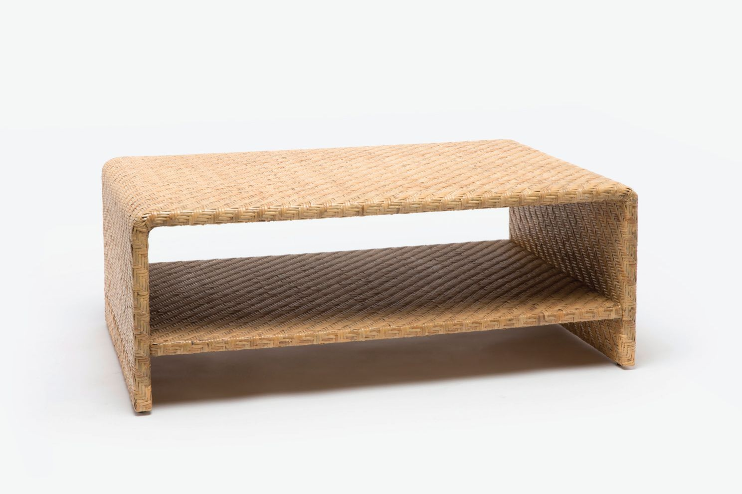 Delicieux Woven Rattan Coffee Table
