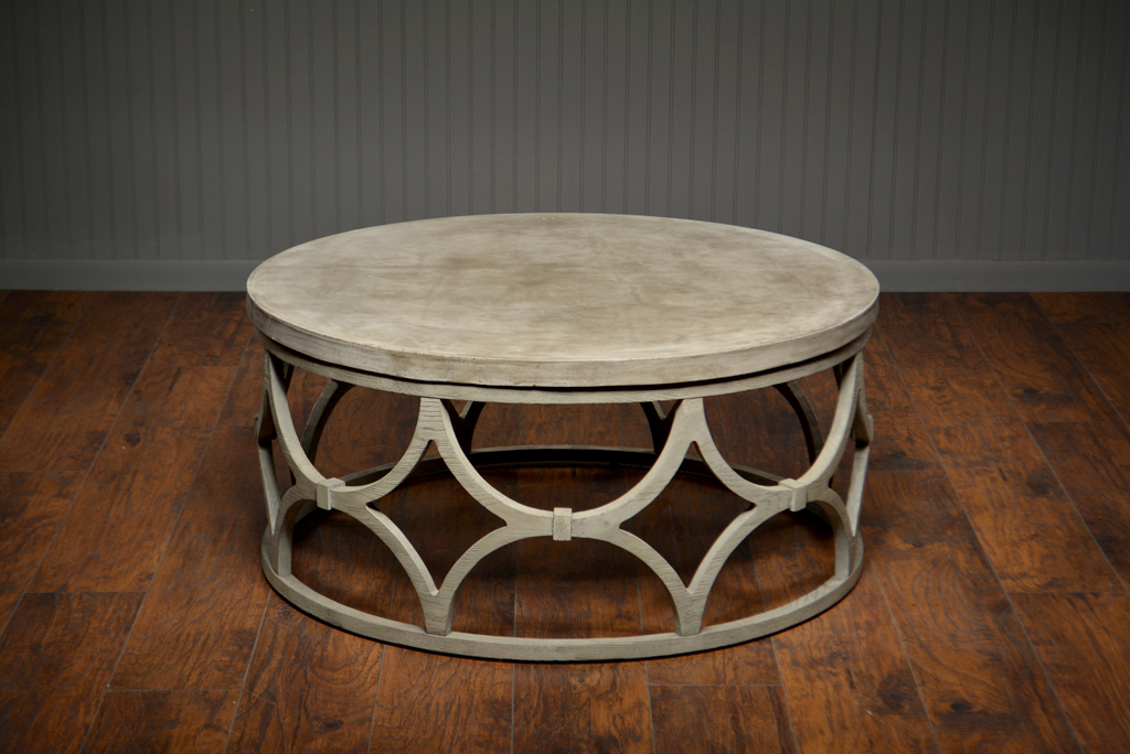 Marvelous Outdoor Concrete Round Rowan Coffee Table Mecox Gardens Pabps2019 Chair Design Images Pabps2019Com