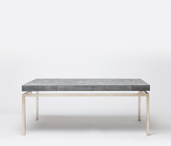 Charmant Benjie Mod Faux Shagreen Coffee Table