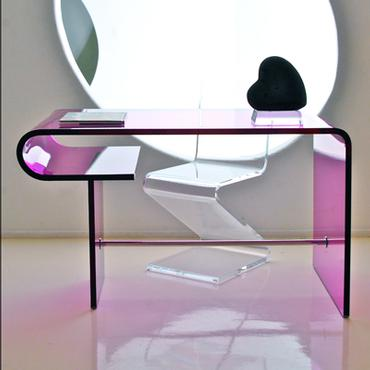 foyer contemporary entrance pieces htm desk photo lucite inc