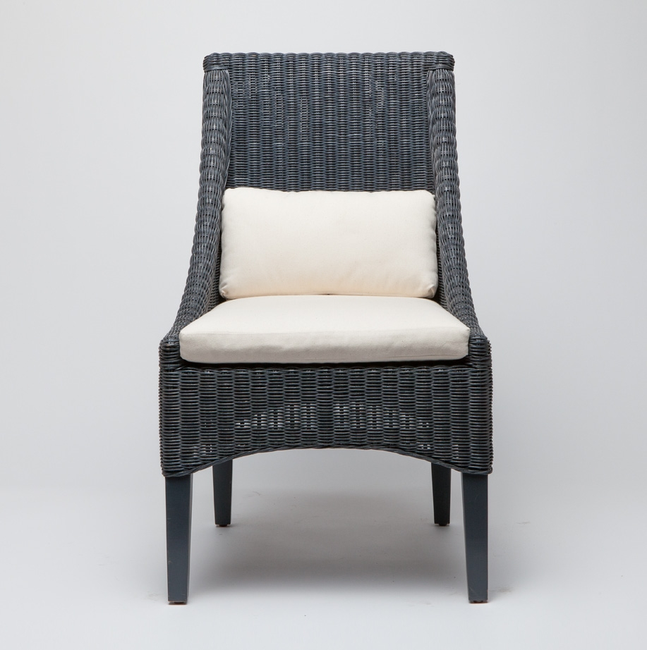 Great MacDonald Wicker Dining Chair