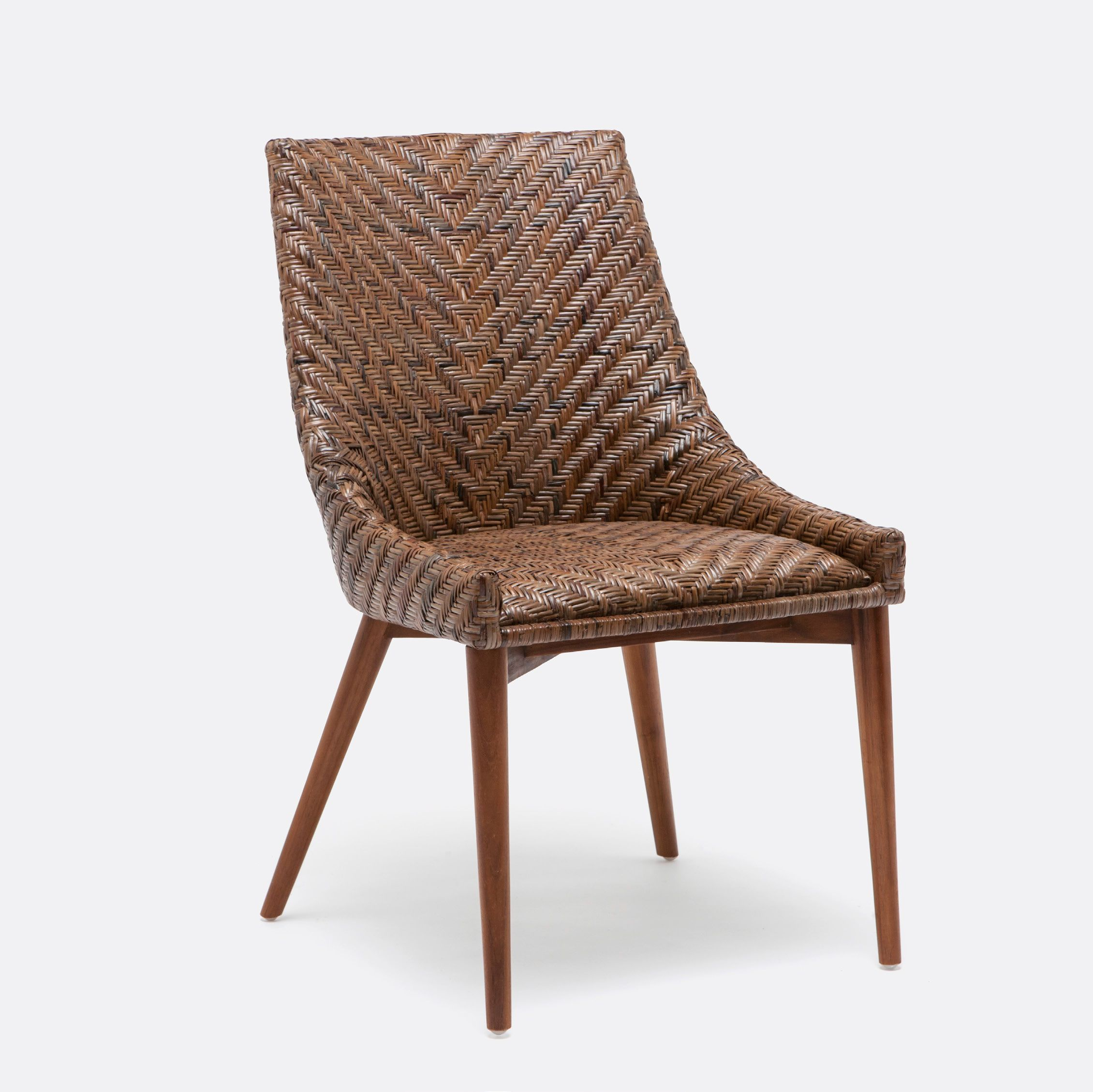 Woven Dining Chairs: Woven Rattan Dining Chair