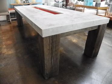 Loch outdoor cast stone dining table mecox loch outdoor cast stone dining table workwithnaturefo