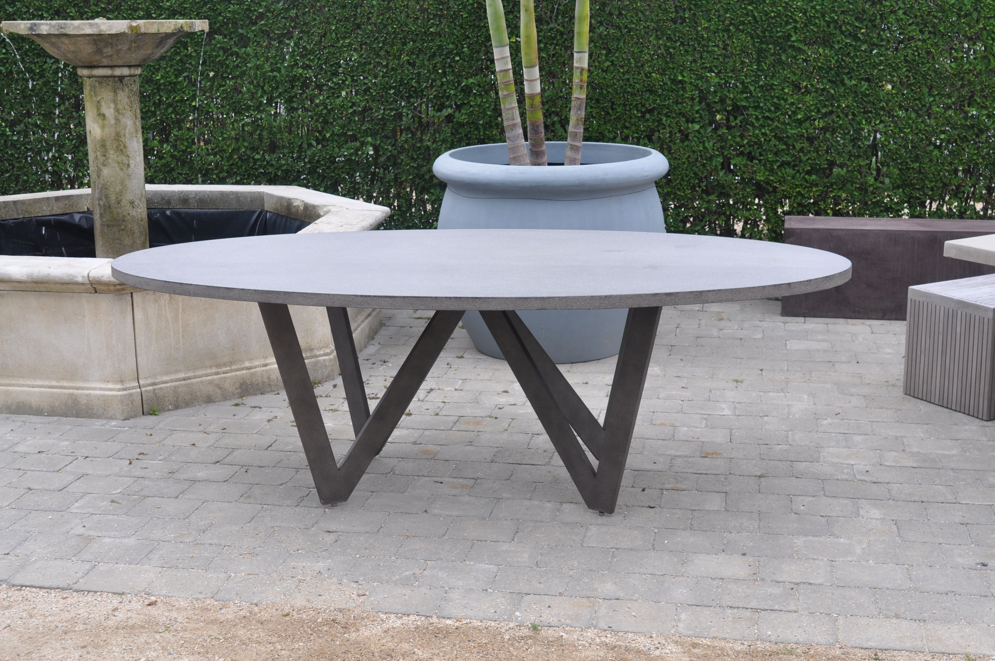 item series x aluminum inch dining oval darlee cast patio table