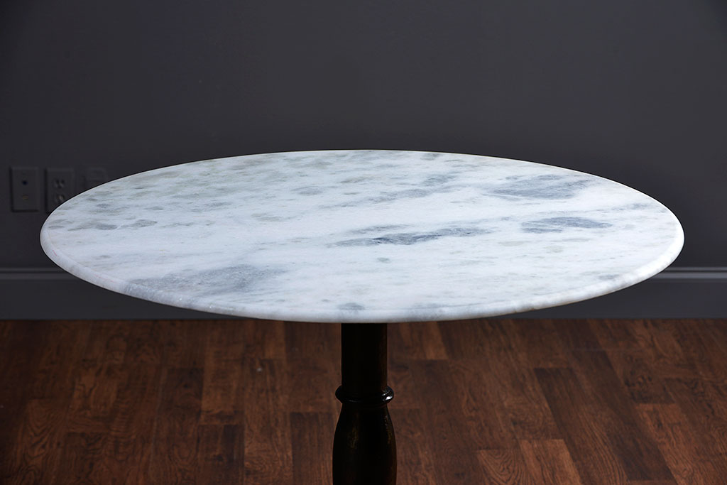 Brenda Marble And Cast Iron Bistro Table Mecox Gardens - 36 round marble table top
