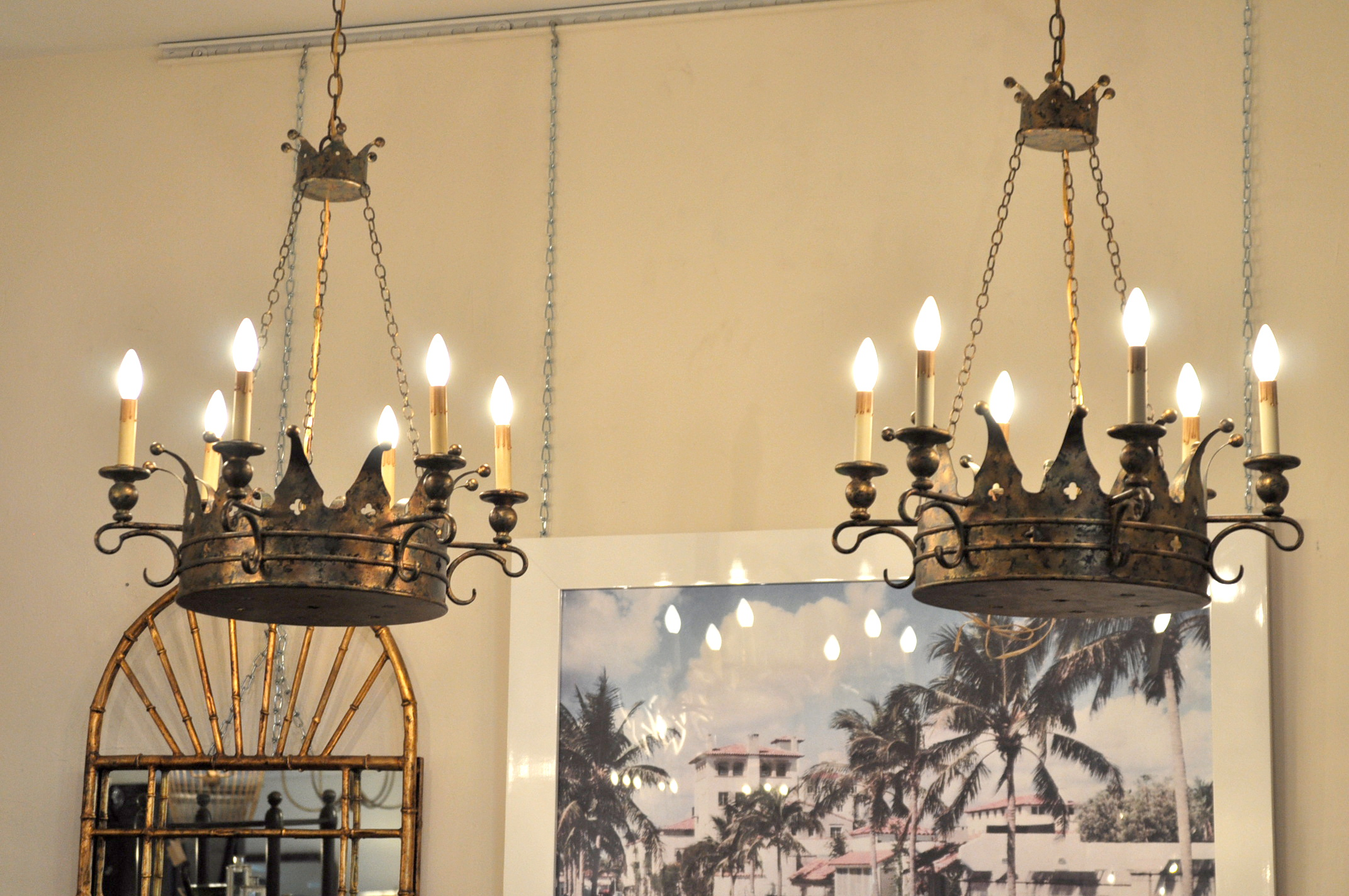 Kings crown chandelier mecox gardens kings crown chandelier aloadofball Image collections