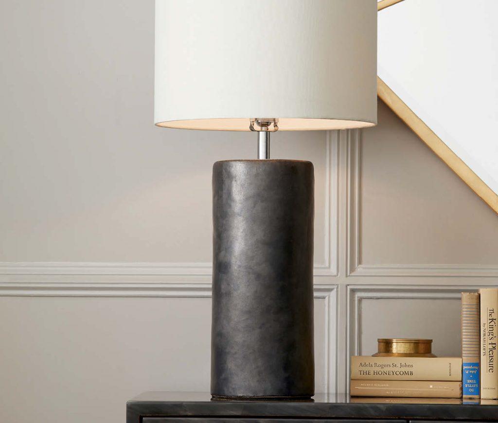 Lenox Hand Glazed Ceramic Table Lamp