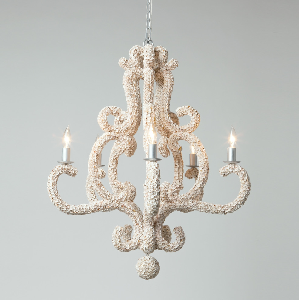 oyster pinterest pin chandeliers shell chandelier ackenpucky lighting