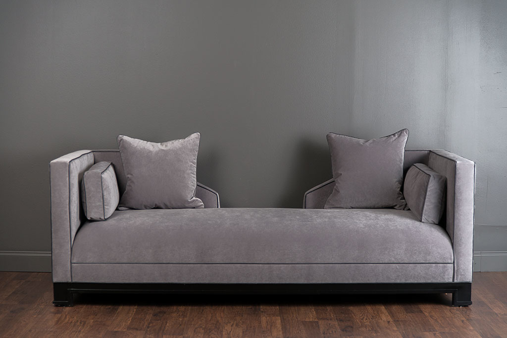 Grey Velvet Sofa Daybed
