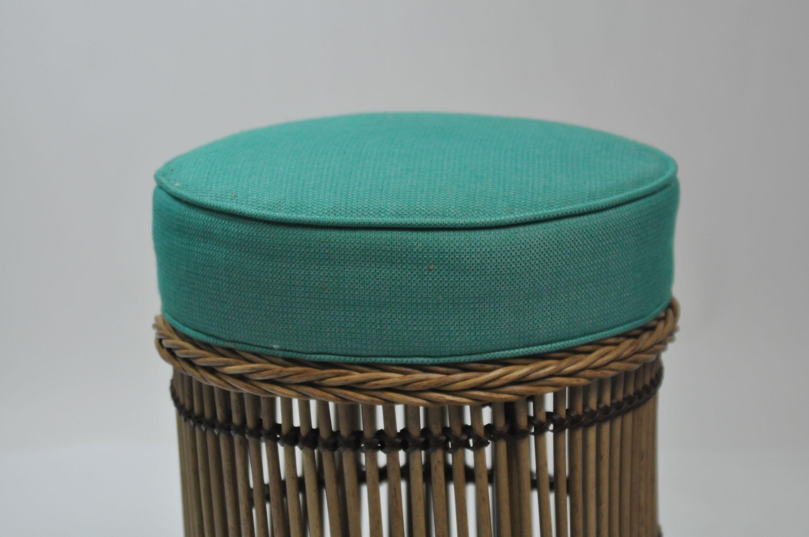 Outdoor Round Rattan Stool – Mecox