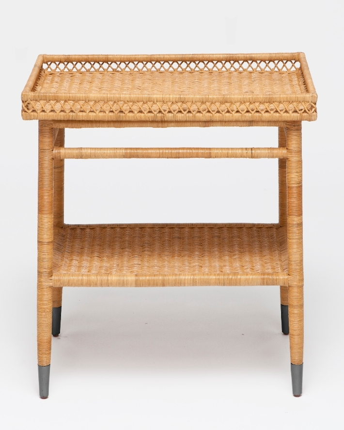 Layla Large Rattan Side Table