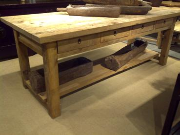 Kitchen Island Work Table - Mecox Gardens